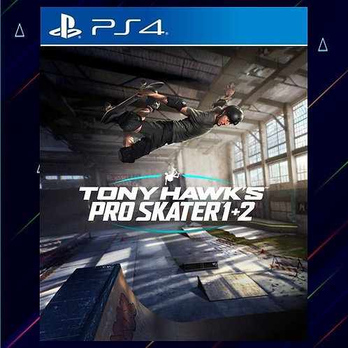Tony Hawk's Pro Skater 1 + 2 - Midia Digital (PS4)