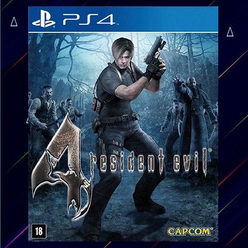 Resident Evil 4 -Midia Digital (PS4)