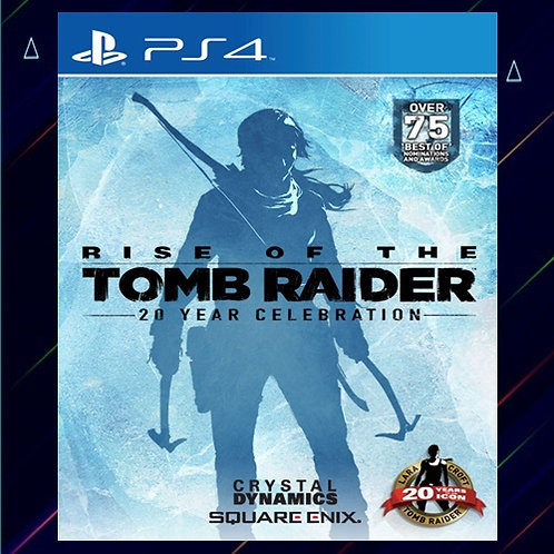 Rise of The Tomb Raider 20 Year Celebration - Midia Digital (PS4)