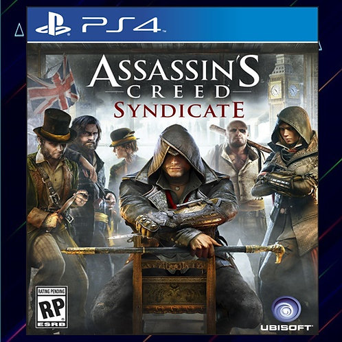 Assassins Creed Syndicate - Midia Digital (PS4)