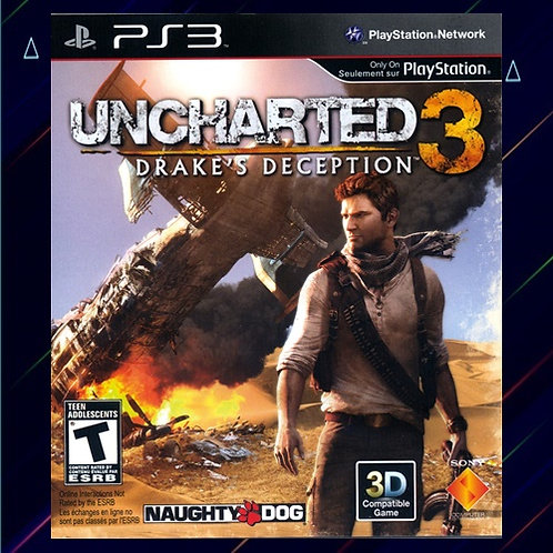 Uncharted 3 - Midia Digital (PS3)