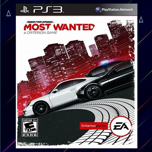 Need For Speed Most Wanted - Midia Digital (PS4)