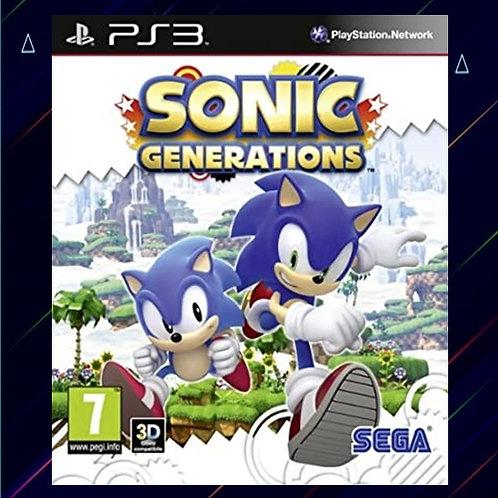 Sonic Generations - Midia Digital (PS3)
