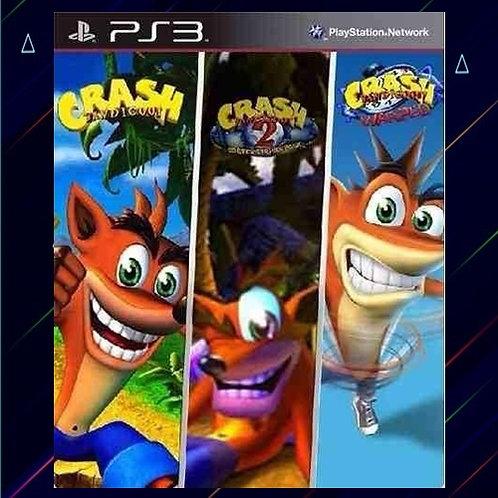 Crash Bandicoot 1, 2 y 3 - Midia Digital (PS3)