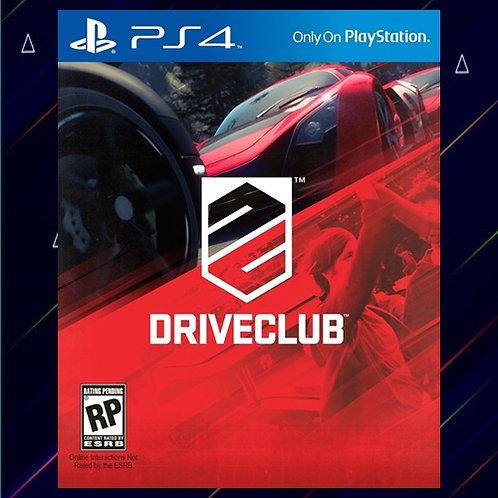 DRIVECLUB - Midia Digital (PS4)