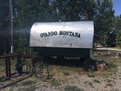 Sturgis to Montana