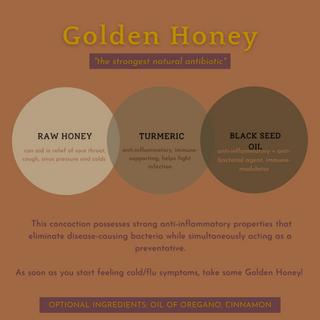 'Golden Honey' Infographic