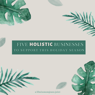 5 Small (Holistic) Businesses Intro Page