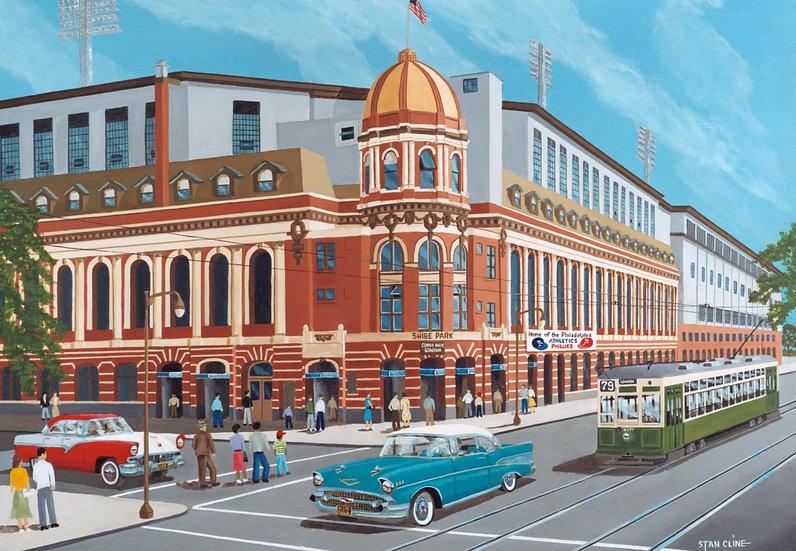 Shibe Park (Philadelphia Phillies) (1957)