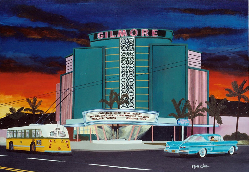 Gilmore Drive-In Theater, L.A. (1958)