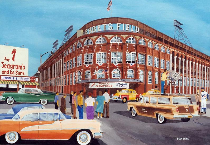 Ebbets Field (Brooklyn Dodgers) (1956)