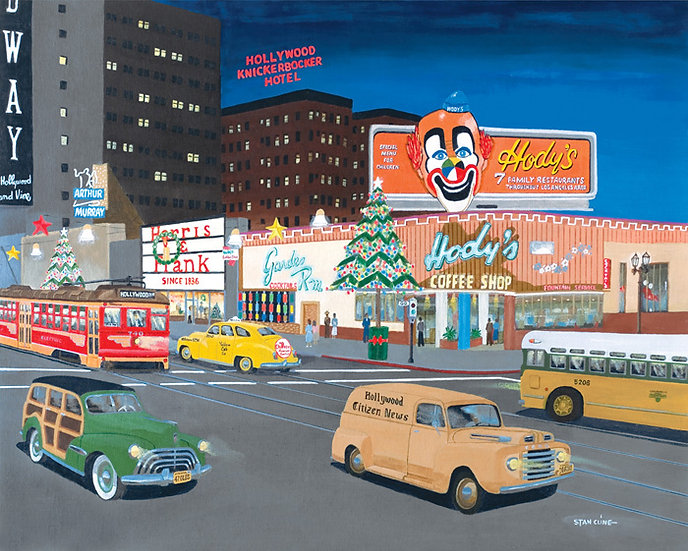 Hody's Coffee Shop, Hollywood & Vine (1950)