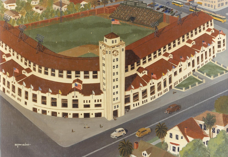 Wrigley Field (Los Angeles Angels) (1950)