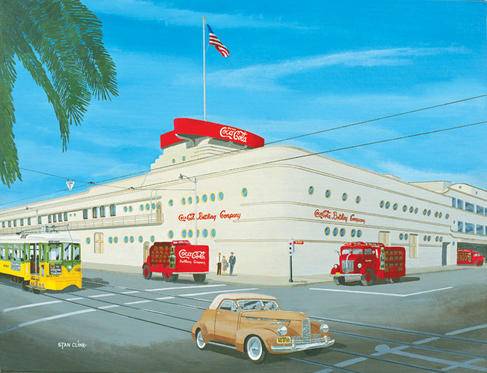 Coca Cola Bottling Plant, Los Angeles (1949)