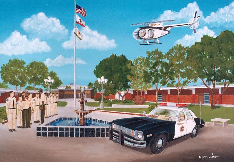 L.A. County Sheriffs Academy, Whittier (1985)