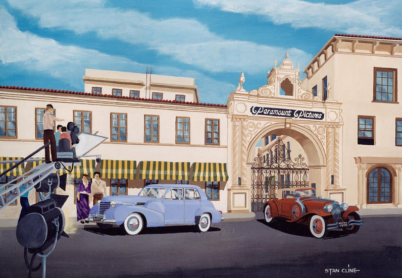 Paramount Studios, Hollywood (1940)