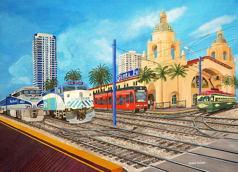Santa Fe Station, San Diego (2005)