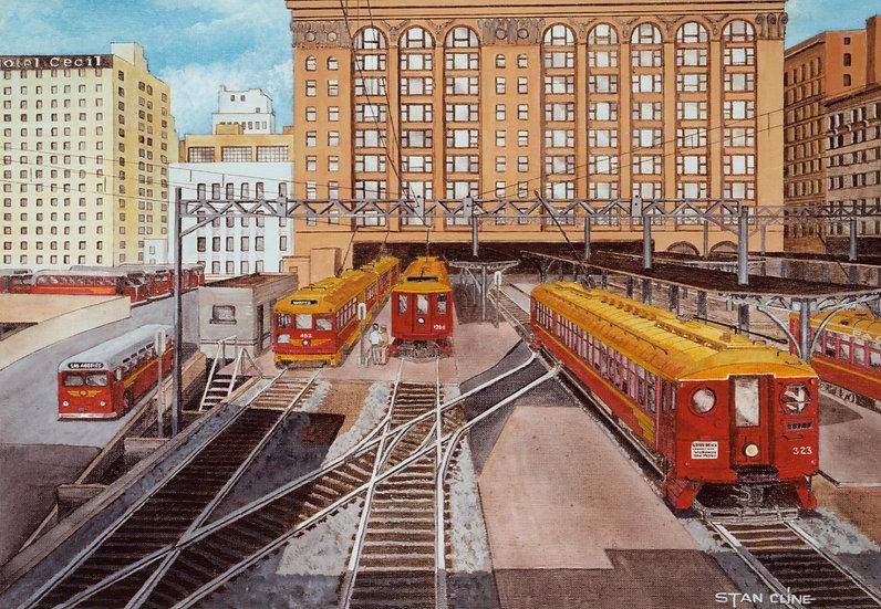 Pacific Electric (6th & Main Terminal) LA (1948)