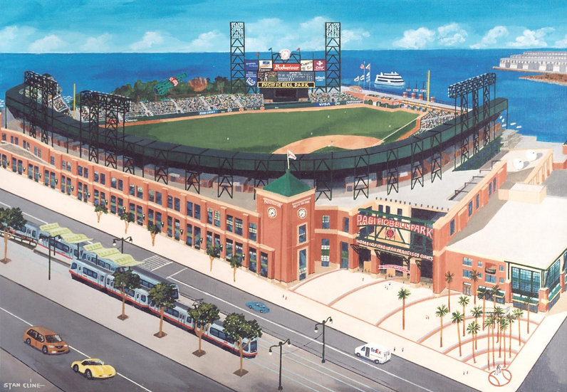 Pacific Bell Park (S.F. Giants) (2000)
