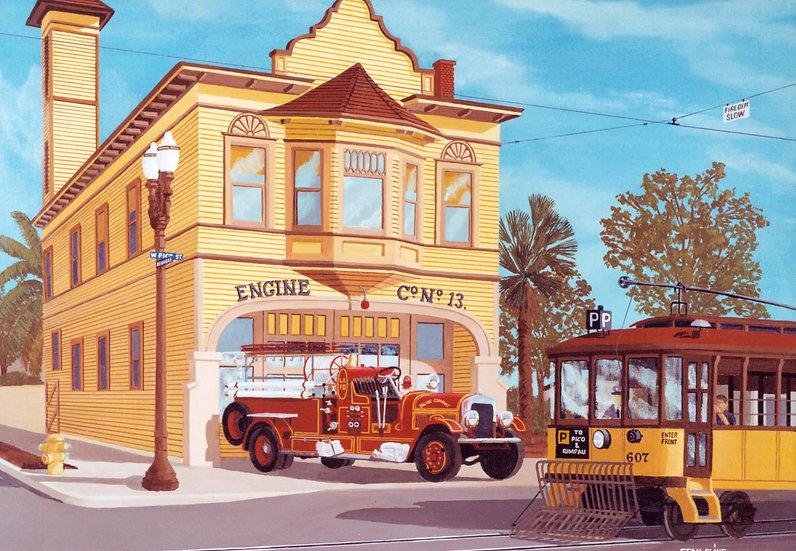 Engine Company #13, LA Fire Department (1930)