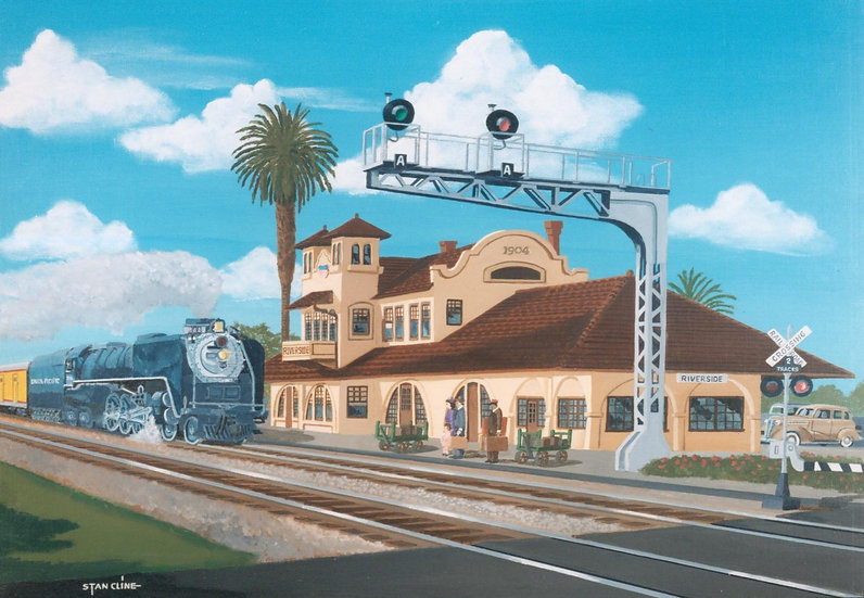 Union Pacific Depot, Riverside (1939)