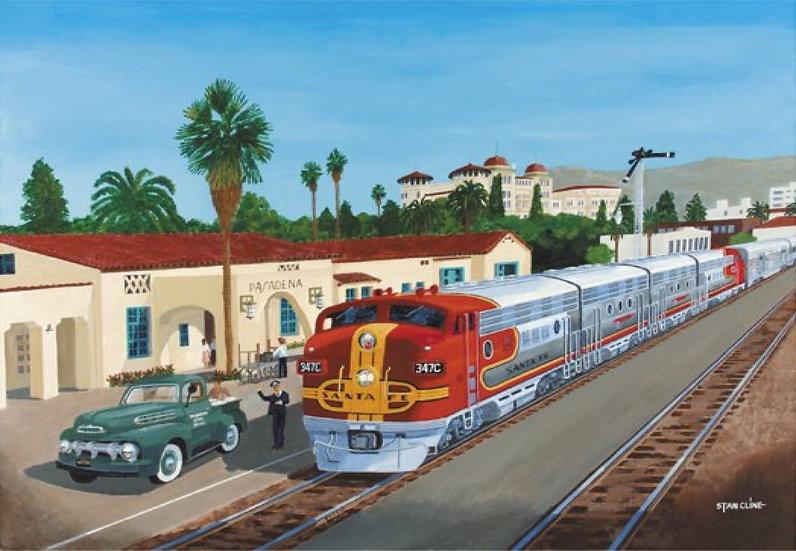 Santa Fe Station, Pasadena (1951)