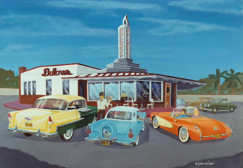 Dolores Drive-In Beverly Hills (1956)