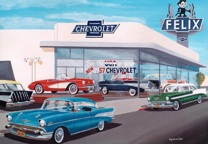 Felix Chevrolet, Los Angeles (1957)