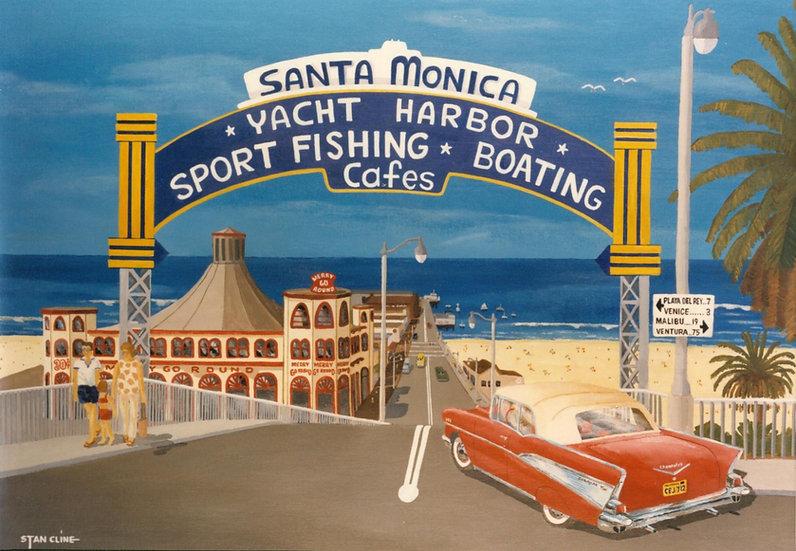 Santa Monica Pier (1957)