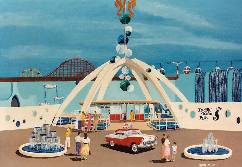 Pacific Ocean Park (Entrance) (1957)