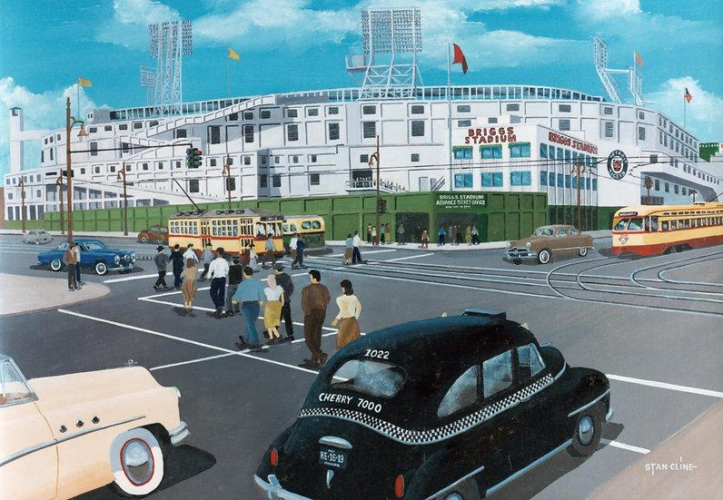 Briggs Stadium (Detroit Tigers) (1951)
