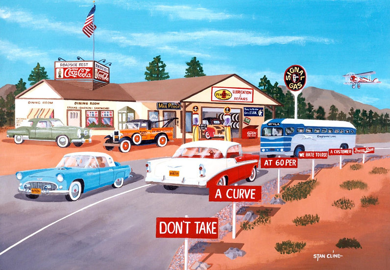 Signal Oil Station (1950's)