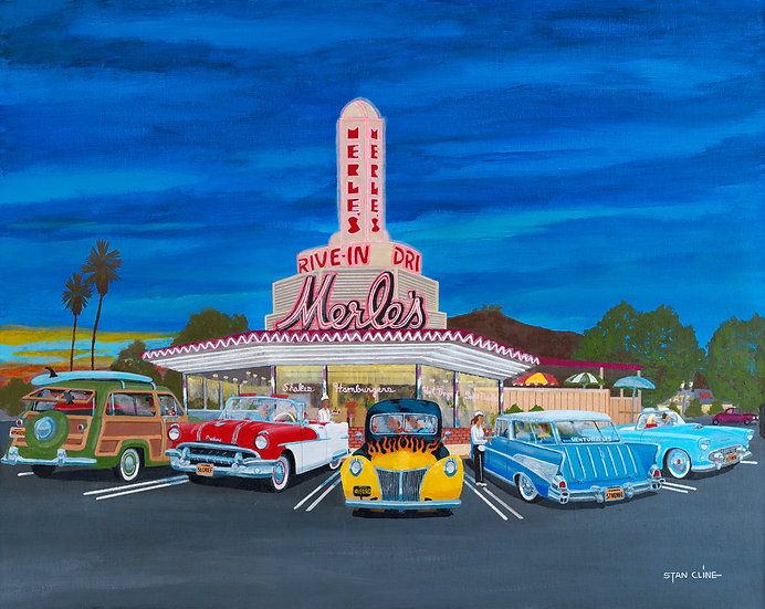 Merles Drive-In, Ventura (1956)