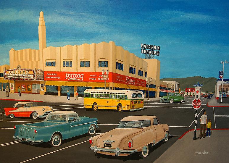 Fairfax Theatre, Beverly & Fairfax, LA (1955)
