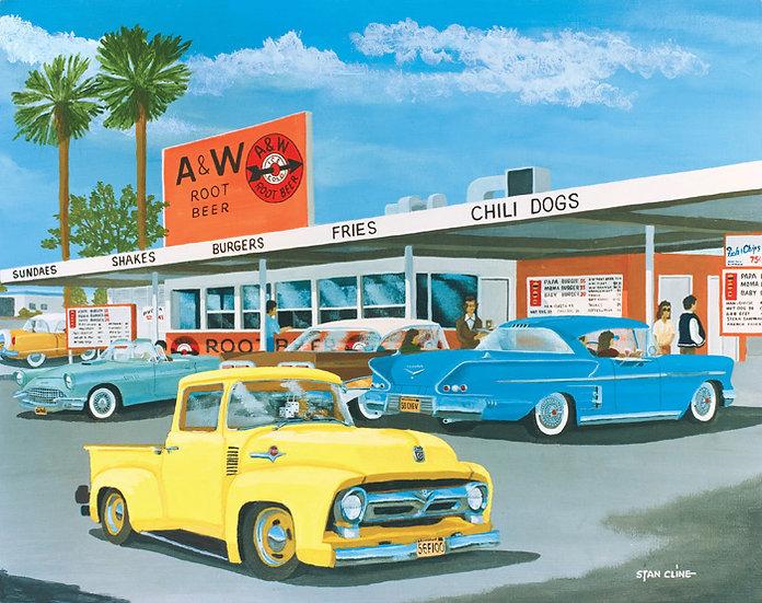 A & W Drive-In, Hawthorne (1958)