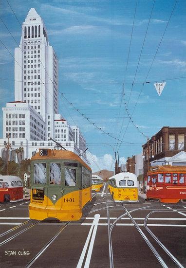 LA City Hall (1st & Main Street) (1950)