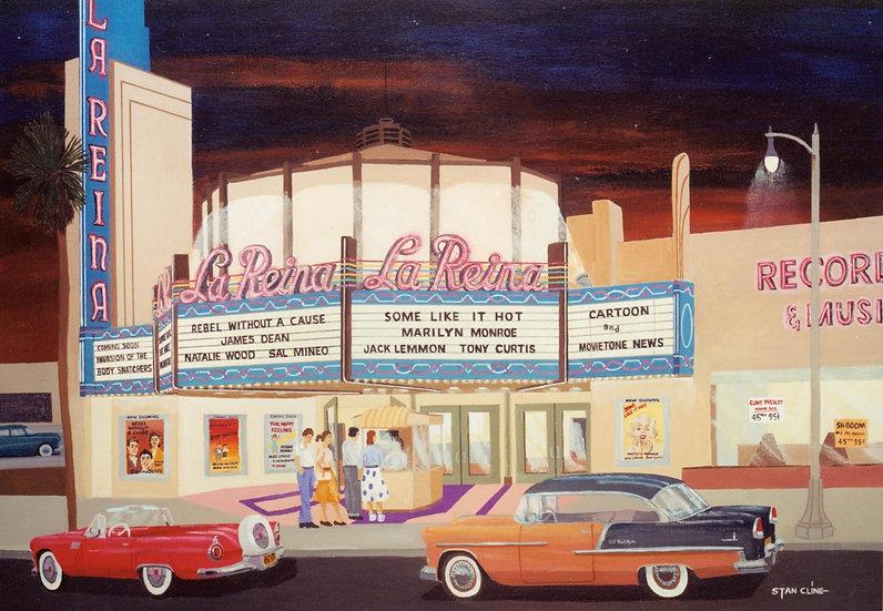 La Reina Theater, Sherman Oaks (1956)