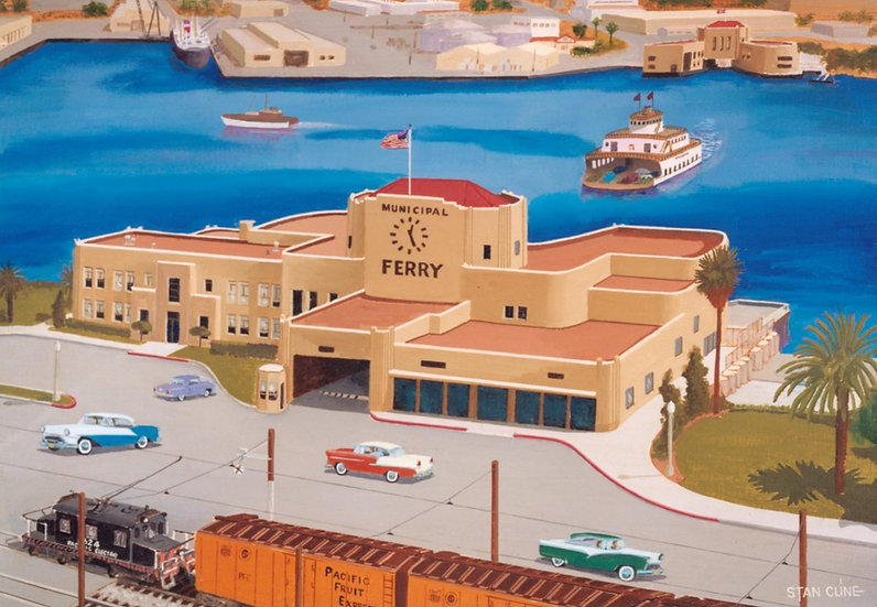 San Pedro Ferry Building (1956)
