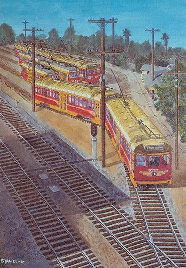 Pacific Electric (Toluca Yards) LA (1950)