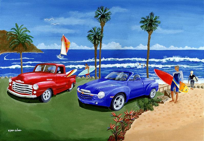 Southern California Coastline (2003)