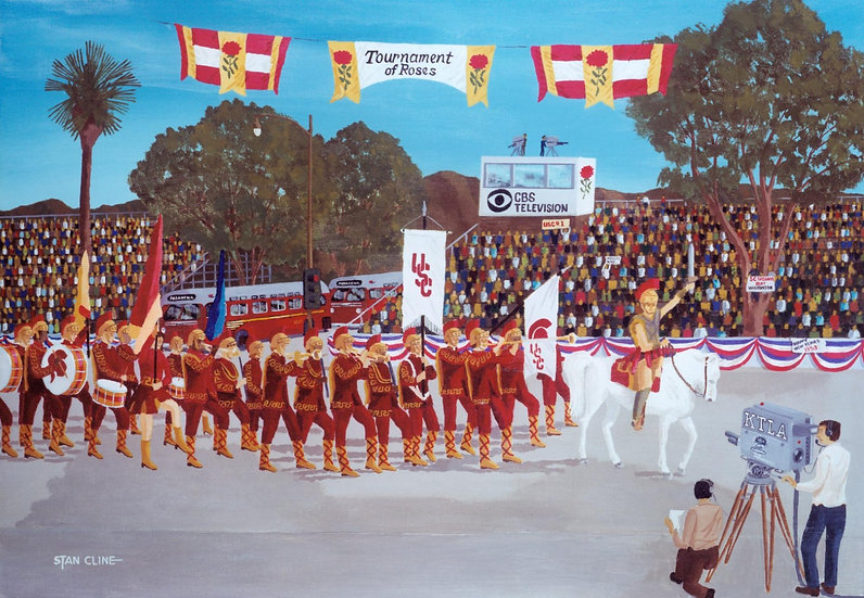 USC Marching Band, Pasadena Rose Parade (1953)