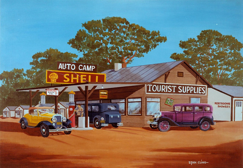Shell Station/Auto Camp (1930's)