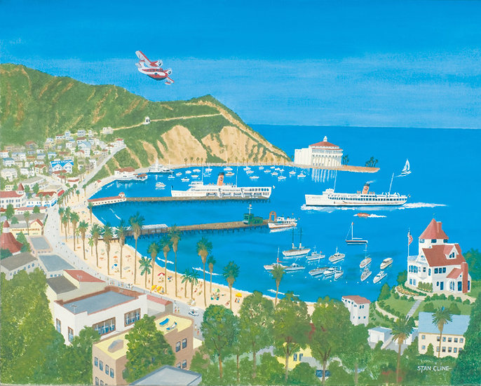 Catalina Island (Avalon Bay) (1951)