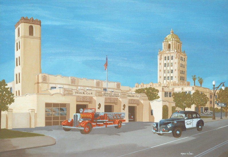 Beverly Hills City Hall Police Fire Station (1939)