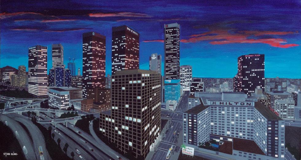 Los Angeles Skyline (night) (1981)