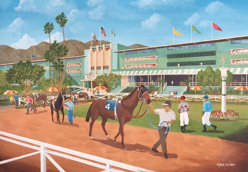 Santa Anita Racetrack, Arcadia (1990)