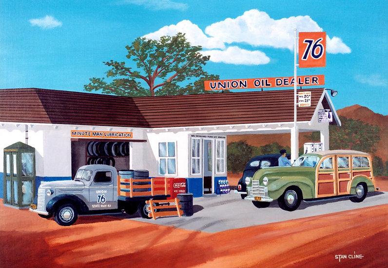 Union 76 Station (1940's)