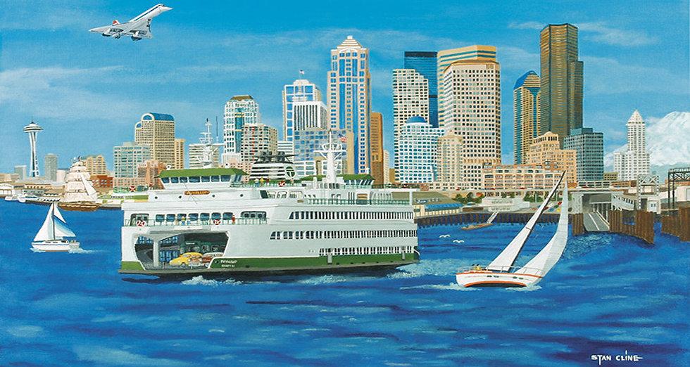 Seattle Skyline (2004)