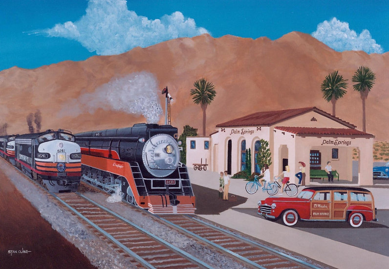 Southern Pacific Station, Palm Springs (1951)