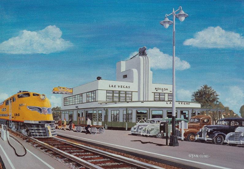 Union Pacific Depot, Las Vegas (1940)